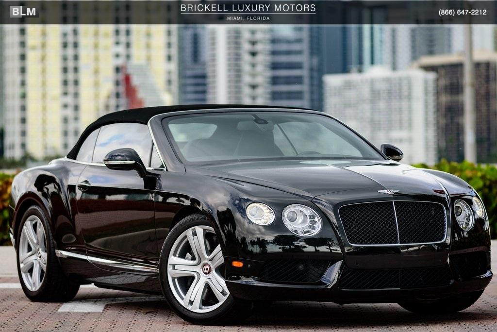 Used 2013 Bentley Continental Gtc Gt V8 Convertible For Sale Sold Ferrari Of Central New Jersey Stock Bc083243p