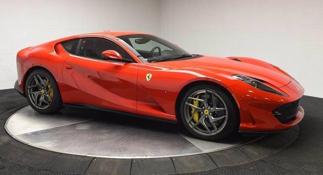 Used 2019 Ferrari 812 Superfast for sale $348,500 at Ferrari of Central New Jersey in Edison NJ