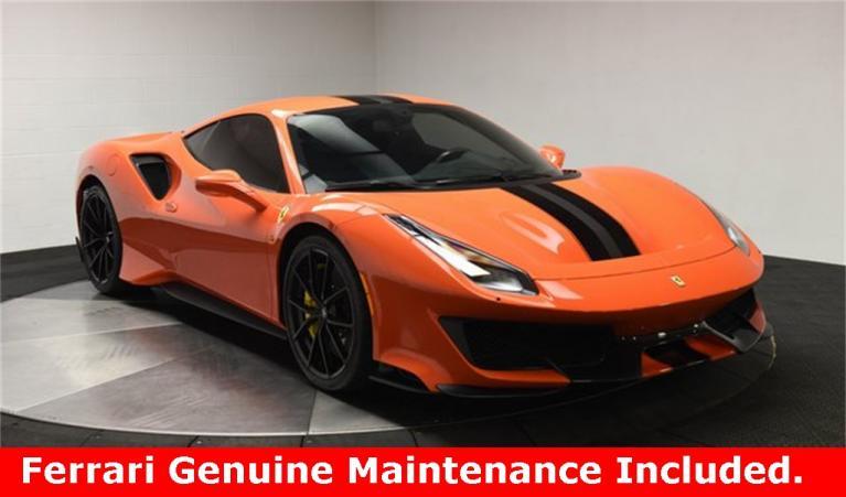Used 2020 Ferrari 488 Pista for sale $469,000 at Ferrari of Central New Jersey in Edison NJ