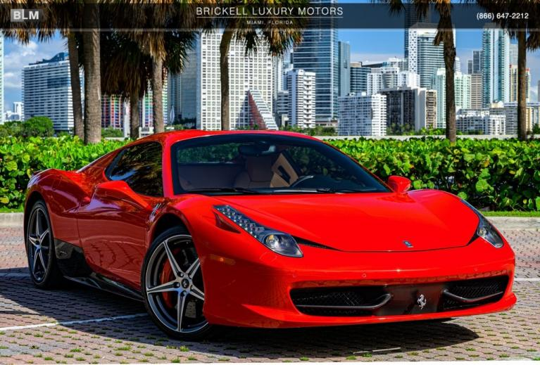 Used 2012 Ferrari 458 Spider Base for sale $200,000 at Ferrari of Central New Jersey in Edison NJ