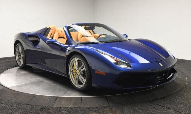Used 2019 Ferrari 488 Spider for sale $315,000 at Ferrari of Central New Jersey in Edison NJ