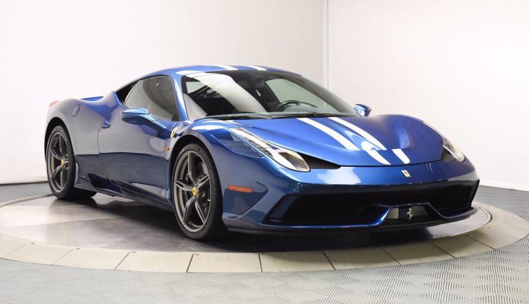 Used 2015 Ferrari 458 Italia Speciale for sale $465,000 at Ferrari of Central New Jersey in Edison NJ